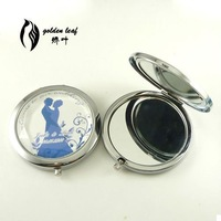 MDZ25 customized LOGO mirror/wedding favor gift/including packing