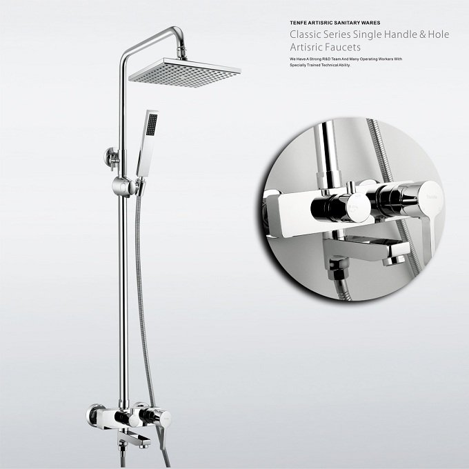 kaiping modern style bathroom bathtub chrome brass bath. Black Bedroom Furniture Sets. Home Design Ideas