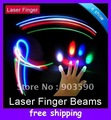 Wholesale - china Christmas party led light Laser Finger lights fingers beams Party supplies free shipping