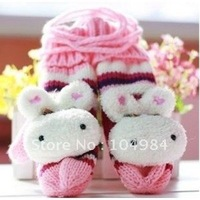 Free Shipping Wholesale  women gloves  Winter lady add thick wool gloves  NEW