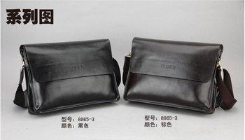 Free shipping.genuine leather bag,buiness handbag.man briefcase