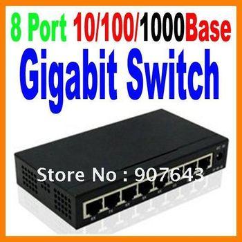 TH-1008G 8 Port 10/100/1000Base Gigabit Ethernet Network Switch high performance Smart Gigabit Switch 8 Port Switch FreeShipping