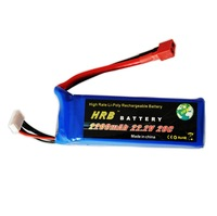 HRB,Brand  rc Lipo Battery 22.2V 2200MAh 20C +free shipping