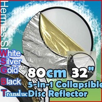 "32"" 5-in-1 Light Mulit Collapsible disc Reflector 80cm - Wholesale/ Retail [AC3301]"