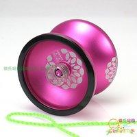 "Free shipping+Yoyo ball/the yo-yo, fire 3, ""Swordsman"",(purple/orange) with side shaft genuine[675007A/675007B]"