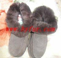 FY-XZ008 New Ladies fur one winter shoes