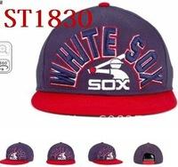 Wholesale snapback baseball hat! high quality sport snap back hats,baseball snapbacks sox cap,free shipping caps custom,st1830
