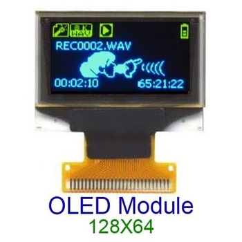 free shipping,10pcs 128X64 COG OLED LCD LED Display Module, wholesale price
