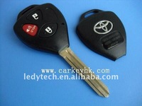 High quality Toyota Camry 2+1 buttons remote key blank
