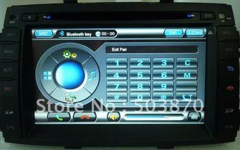 "Free shipping 7"" indash car dvd player navigation 2010 Kia Sorento ST-8941"