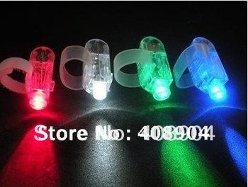Free shipping new LED Finger Light wholesale,4 colors led finger torch,Finger ring laser,500pcs/lot