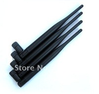5pcs/lot 2.4GHz 5dBi Omni wifi Antenna SMA Femal for wireless router wifi adapter FREE SHIPPING