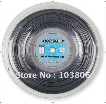 Luxilon  alu  220m tennis string  Silver 16L 726'