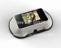 2014 Top Fasion New 220v B/w Wireless Intercom Peephole Video Door Cheapest free Shipping Hotsell Wireless Peep Hole Viewer