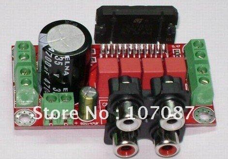 Free Shipping 1pcs TDA7850 4 Channel Car Audio Amplifier Board DIY Kit 50W(China (Mainland))