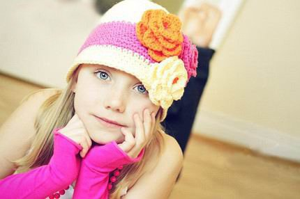 Baby Photo on Cotton Crochet Hat Cap Beanie Baby Mixed Style Hot Toddler Girl Hats