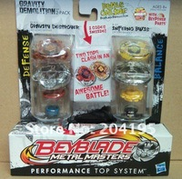 20 pcs Hasbro Beyblade 2-pack Performance Top System Metal Masters Spinning Top Toy freeshipping