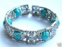 Free shipping Tribal Jewelry Tibet turquoise bead bracelet