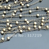 Jewelry Chains Brass/Copper Antique Bronze necklace chain,necklace chain accessories 20Meter/lot