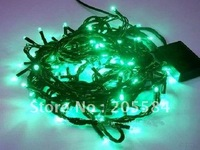 Free Shipping  5pcs/lot 10m 100 LED string light  for Christmas or wedding or party or shopwindow