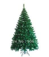 Christmas tree. 2.1 meters green encryption type pine tree.A-019. The family style.free shipping