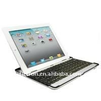 Aluminum Metal Case Wireless Bluetooth Keyboard Case Cover for Apple iPad 2