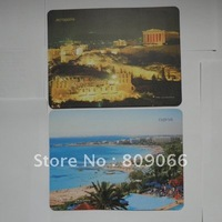 PVC+EVA promotion customized computer mouse pad with full color offset printing logo