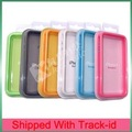 TPU Bumper Frame Case Cover for iphone 4 4G,Bumper case for iPhone4 4G,Frame case for iphone4,Free shipping by DHL/EMS
