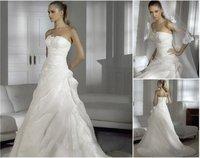 2011 New white/ivory wedding dress