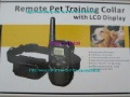 5pcs dog Remote training collar system with LCD display and 300 meters range collar 100  levels