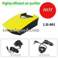 auto air purifier (yellow)