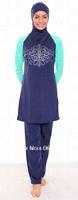 5 discount of sexy women muslim swimwear,islamic swimsuit,fashion muslim swimwear+Free shipping Using DHL(3-5days)