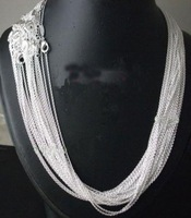 Free Shipping! Wholesale Price 20pcs 925 Sterling Silver Roll Chain  C01 Size:18 inch