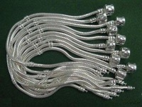 Free Shipping! Wholesale  925 Sterling Silver 3MM Snake  Chain  C06  5pcs a lot size 8 inch
