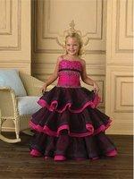 NEW*Little Girl's* Pageant Dress Flower Girl Dress custom size