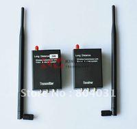 Extreme distance 8CH 2KM-3KM 3W 2.4G Wireless AV Transmitter And Receiver