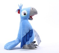 Wholesale - 10 Pcs/lot RIO character Plush Parrots Birds Plush Toy Doll Stuffed Animals , 10 Inch freeship