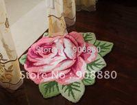 floor mat Carpet Ottomans tasteless European trade cute baby anti-skid pad bedroom carpet Free Shipping/Doormat/flower shape