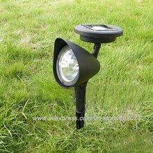 3-LED Garden Led Solar Light Outdoor Spotlight Landscape Lamp(China (Mainland))
