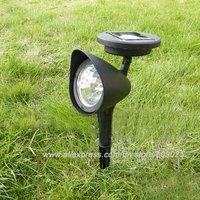 3-LED Garden Led Solar Light Outdoor Spotlight Landscape Lamp
