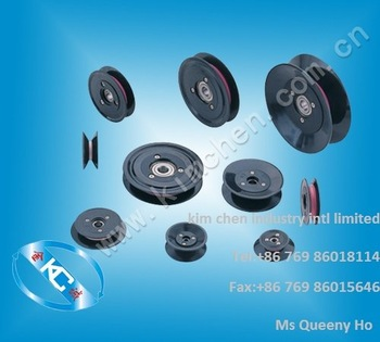 Flanged wire gide pulley(wire roller) pulley guides OD:40mm ID:5mm