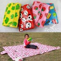 Wholesale 4pcs/lot  Cartoon Folding Waterproof  Baby Crawling Mat Picnic Mat  4 styles Free Shipping