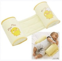 Retail Baby head support pillow Baby stereotypes pillow Cotton Yellow Free Shipping