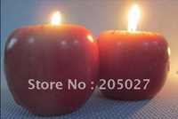Free Shipping creative Christmas gifts Apple Candle  Christmas decorations