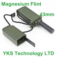 Magnesium Flint Stone Fire Starter Kit Survival Outdoor camping 10pcs/lot-Y662