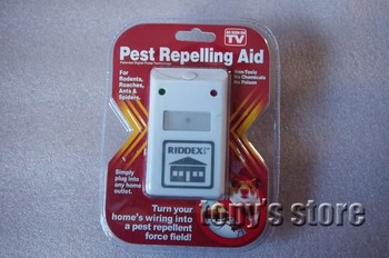 Wholesale Riddex Pest Repeller Control Aid Killer Ant mosquito Repelling Plus Electronic Free Shipping 110V/220V
