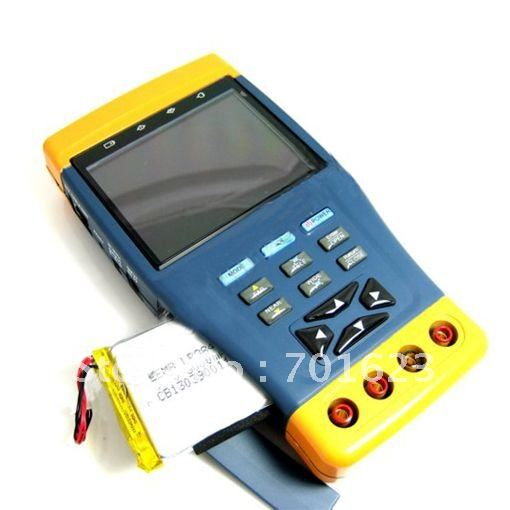 "3 pcs Ten-in-One 3.5"" LCD Monitor CCTV Camera Test / Tester ccctv tester electric tester testing(China (Mainland))"