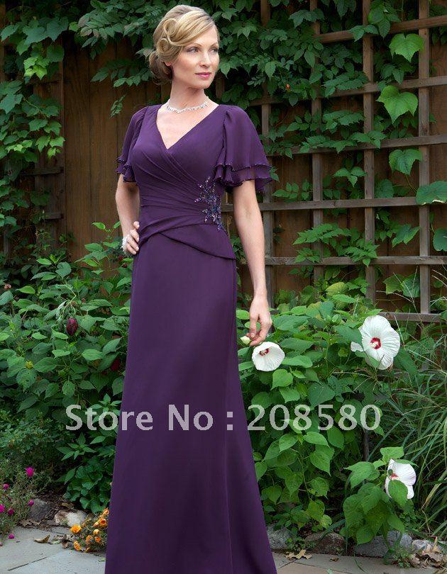 Purple Plus Size Mother Bride Dresses_Plus Size Dresses_dressesss
