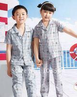 pajamas sleepwear for kids baby cotton AS11034 FREE SHIPPING 12PCS 1lot nightwear