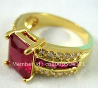 Natural 5.12ct Ruby In 14k Solid Yellow Gold Ring diamand Rings